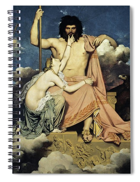 Jupiter And Thetis Spiral Notebook