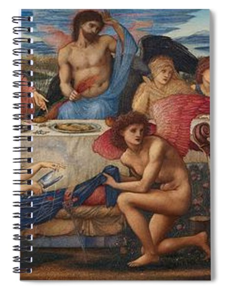 The Feast Of Peleus Spiral Notebook
