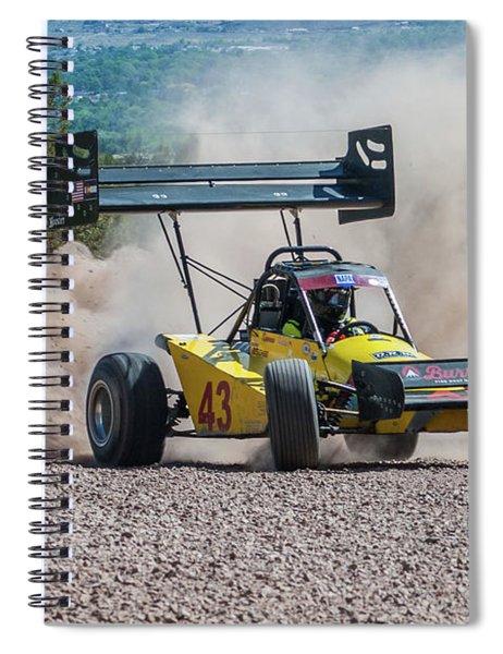 #43 Spencer Steele Spiral Notebook