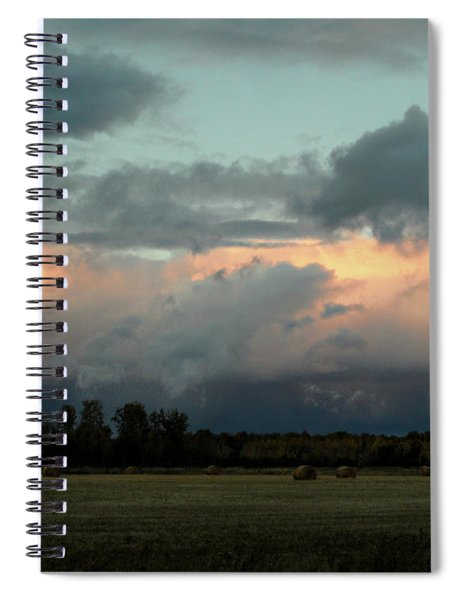 Colossal Country Clouds Spiral Notebook