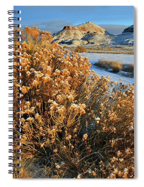 Morning At Ruby Mountain Spiral Notebook