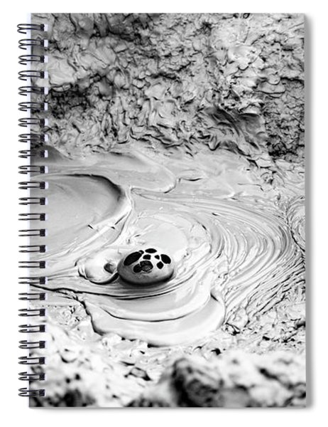 Mud Bubble Spiral Notebook