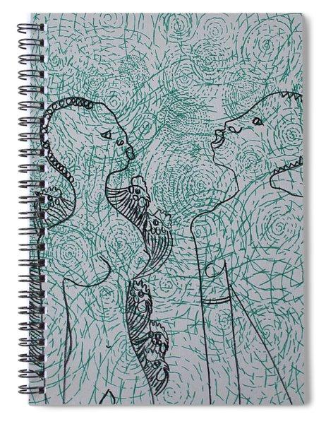 Kintu And Nambi Spiral Notebook