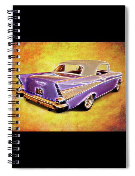 57 Droptop Spiral Notebook