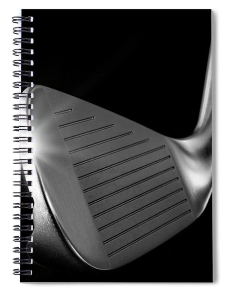 Golf Club Iron Spiral Notebook
