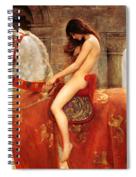 Lady Godiva Spiral Notebook