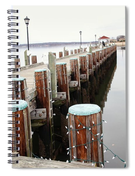 Northport Dock Spiral Notebook