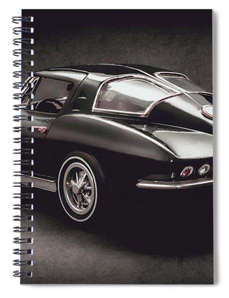 63 Chevrolet Corvette Stingray Spiral Notebook