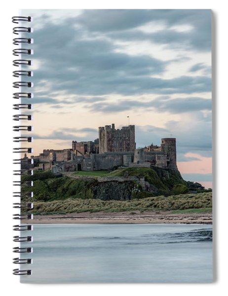 Bamburgh Castle - England Spiral Notebook