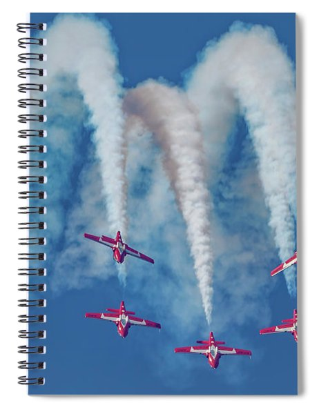 7 Inverted Snowbirds Spiral Notebook