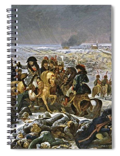Napoleon On The Battlefield Of Eylau, Circa 1807 Spiral Notebook