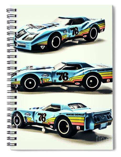 76 Spiral Notebook