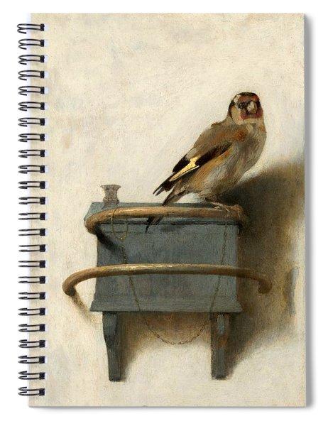 The Goldfinch Spiral Notebook