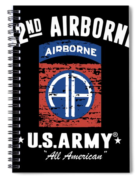 82nd Airborne Division Classic Veteran Spiral Notebook