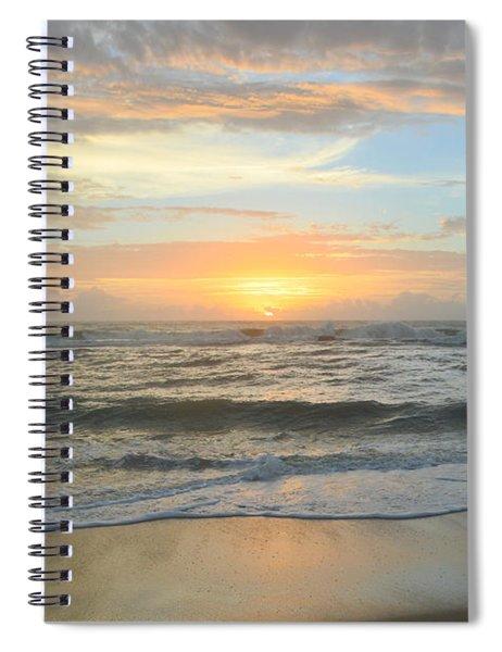 9/17/18 Obx Sunrise  Spiral Notebook