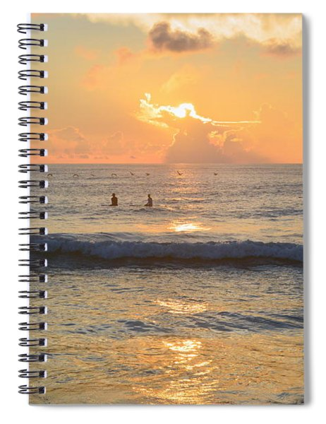 9/3/18 Kitty Hawk Sunrise Spiral Notebook