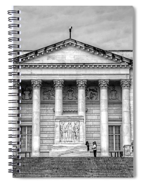 Tomb Of The Unknown Soldier Spiral Notebook