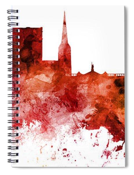 York England Skyline Spiral Notebook