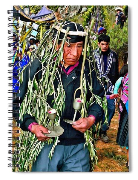 Cajamarca - Peru Spiral Notebook