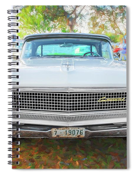 959 Lincoln Continental Town Car Mk Iv 118 Spiral Notebook