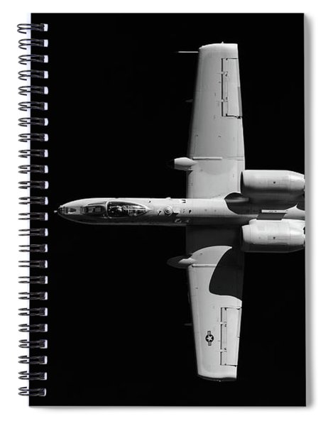 A-10 Blackout Spiral Notebook