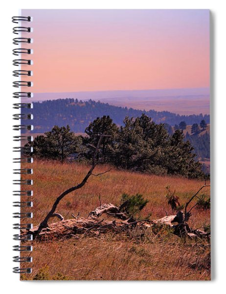 Autumn Day At Custer State Park South Dakota Spiral Notebook