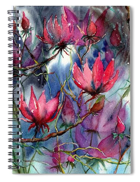 A Blooming Magnolia Spiral Notebook