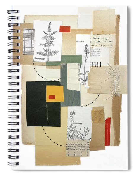 A Book Of Herbs Spiral Notebook