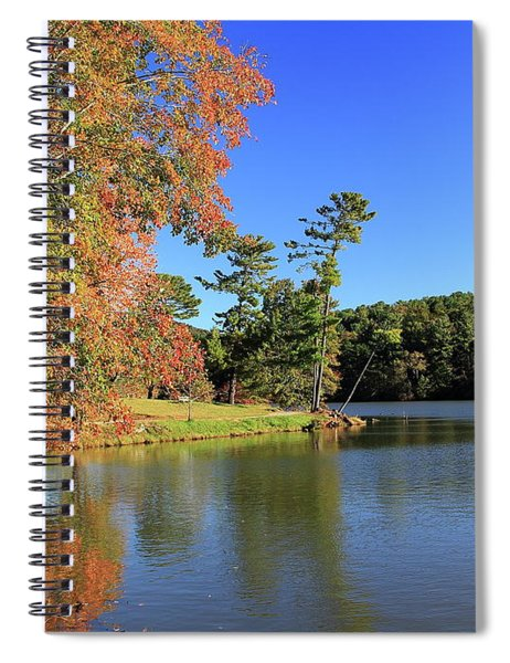 A Calm Peaceful Day Spiral Notebook
