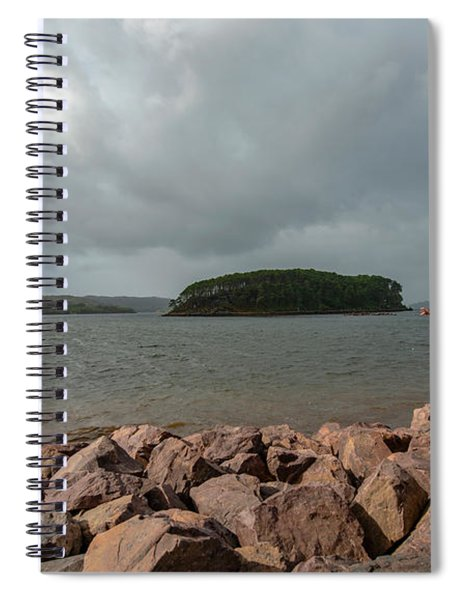 A Charming Little Girl In The Isle Of Skye 1 Spiral Notebook