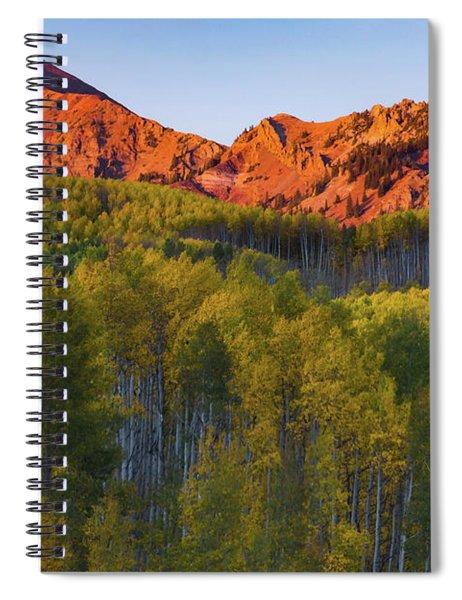 A Colorado Glow Spiral Notebook