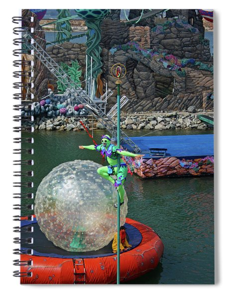 A Colorful Show At Seaworld Spiral Notebook