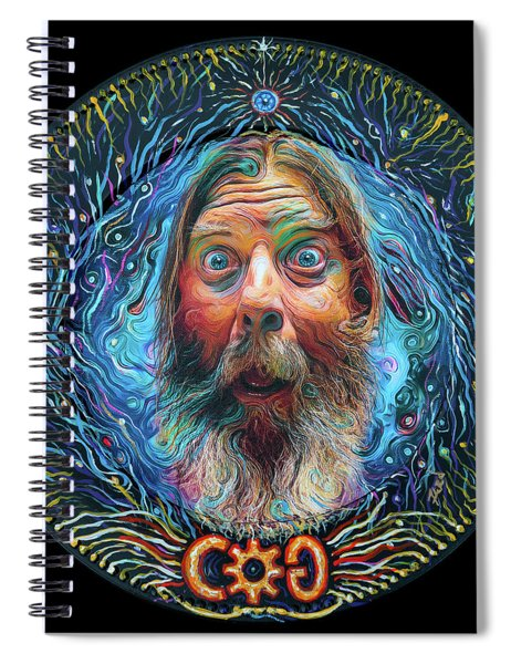 A Conversaiton With Cog Spiral Notebook
