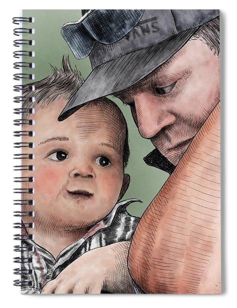 A Conversation With Daddy  Spiral Notebook