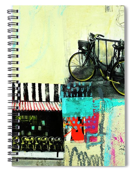 A Day In Paris Spiral Notebook