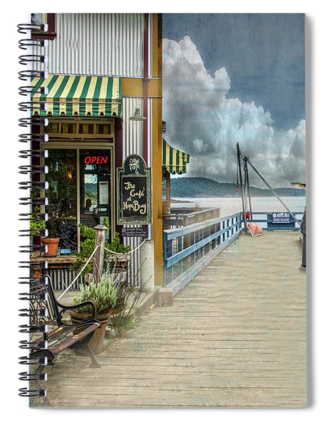 A Day To Fish Spiral Notebook