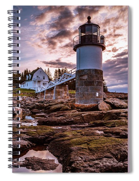 A Final Reflection Near Marshall Point Spiral Notebook