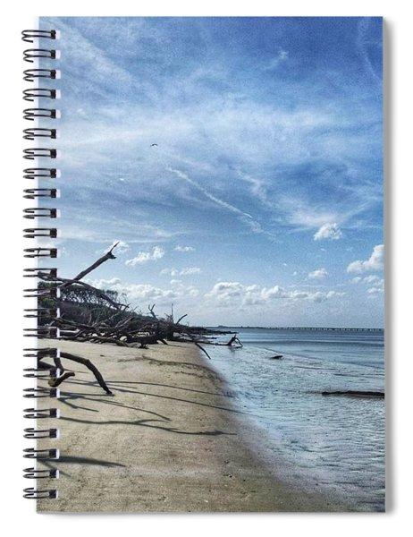A Fine Line Spiral Notebook