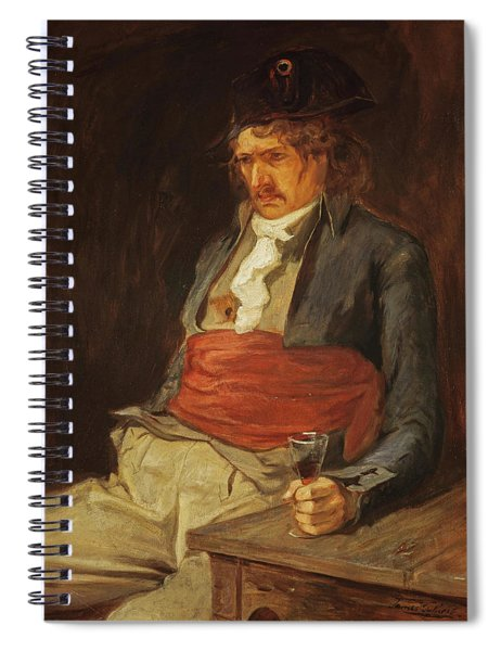 A Gallant Of The Terror, 1880 Spiral Notebook