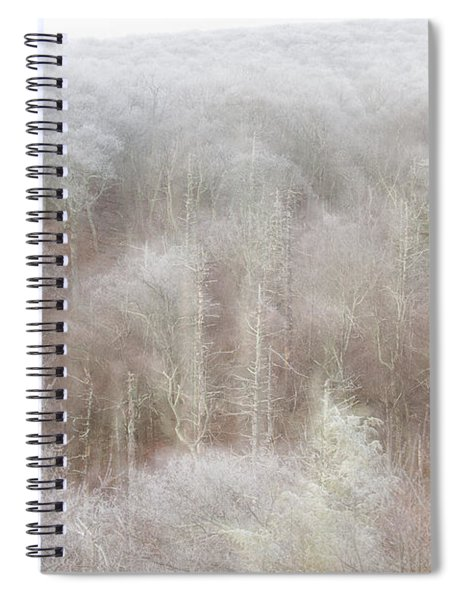 A Ghost Of Trees Spiral Notebook