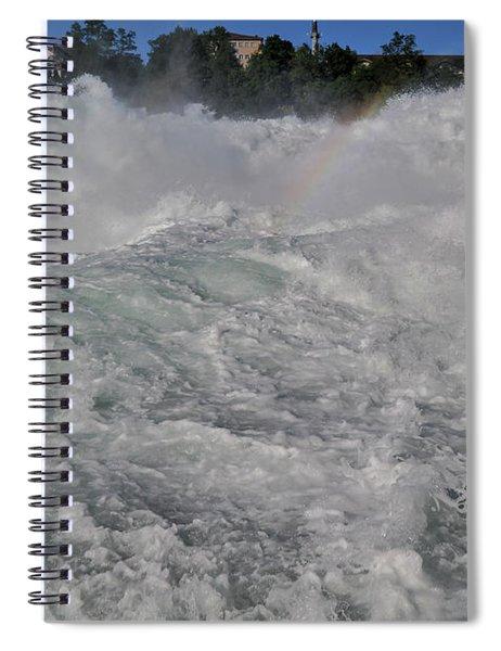 A Hint Of A Rainbow Spiral Notebook