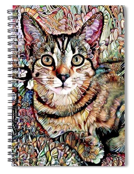 A Kitten Named Prada Spiral Notebook