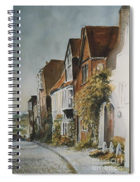 A Lane In Rye, East Sussex Spiral Notebook