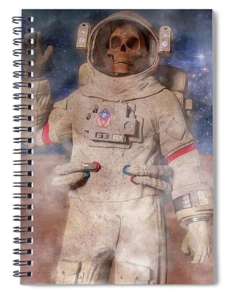A Lifetime And Beyond Astronaut  Spiral Notebook