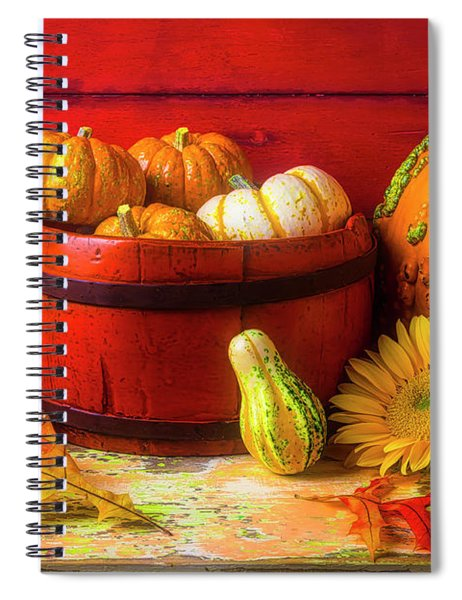 A Lovely Autumn Still Life Spiral Notebook