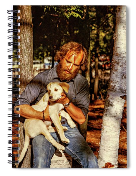 A Man And His Dog 2 Spiral Notebook