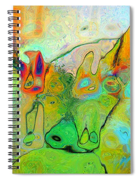 A Message For Miro Spiral Notebook