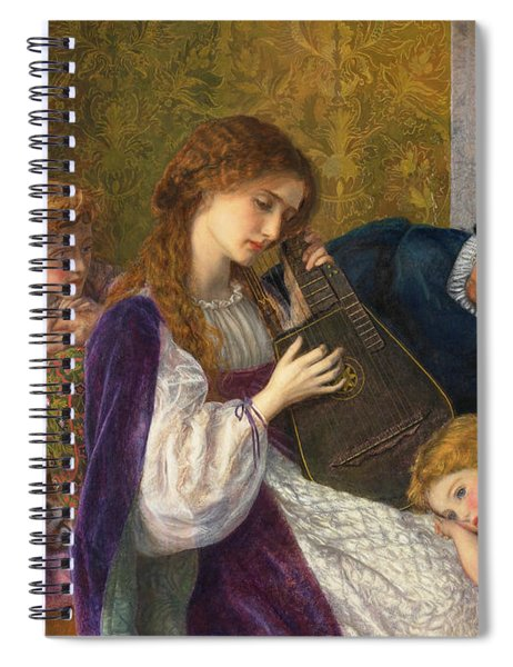 A Music Party, 1864 Spiral Notebook