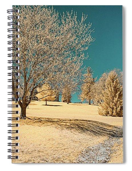 A Mustard World Spiral Notebook