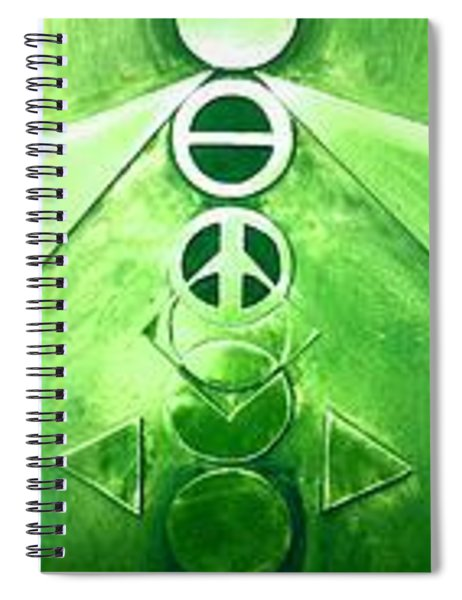 A New World, Order Spiral Notebook